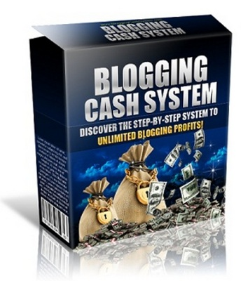 Product picture Blogging Cash System - Complete Website Package - PLR