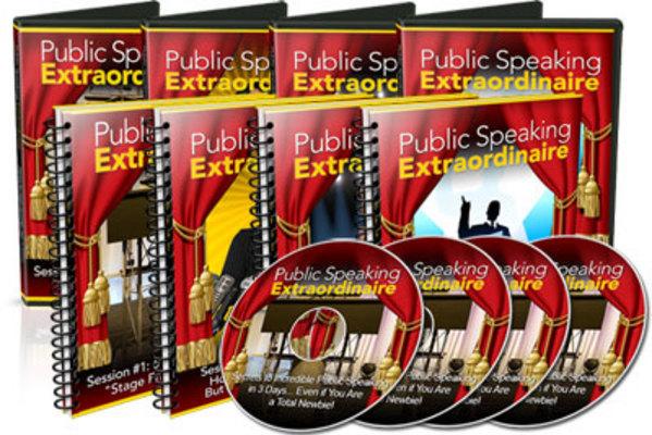Product picture Public Speaking Extraordinaire Videos