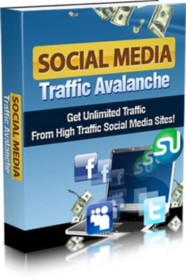 Product picture Social Media Traffic Avalanche