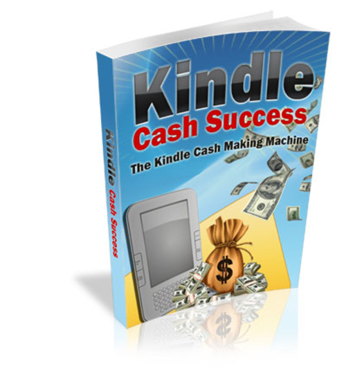 Product picture Kindle Cash Success w/ Minisite