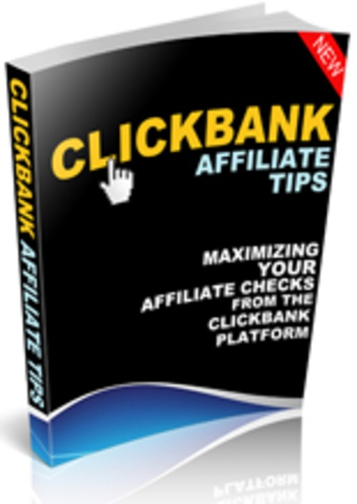 Product picture Clickbank Affiliate Tips - Guide To Success
