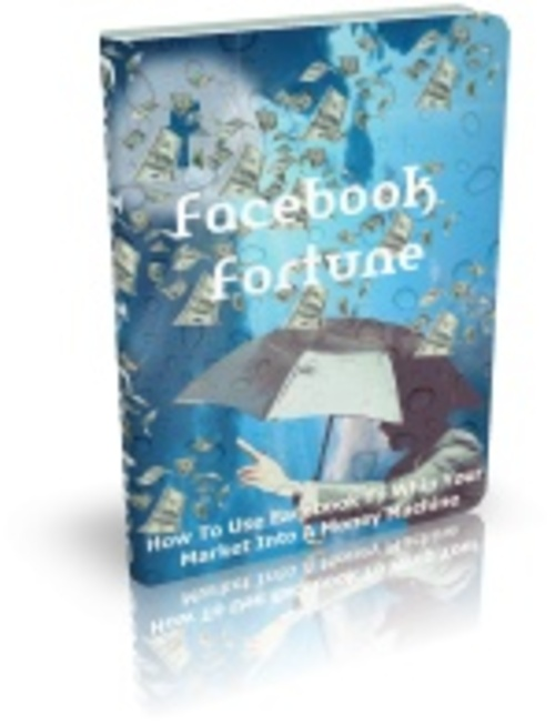 Product picture Facebook Fortune w/ ebook and Minisite